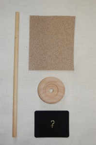 Make a hand spindle